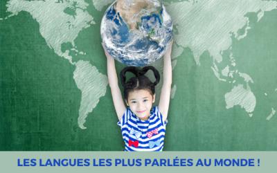 Les langues les plus parlées au monde!